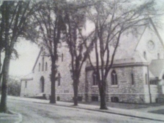Christ Episcopal Church, Westerly, circa 1903.