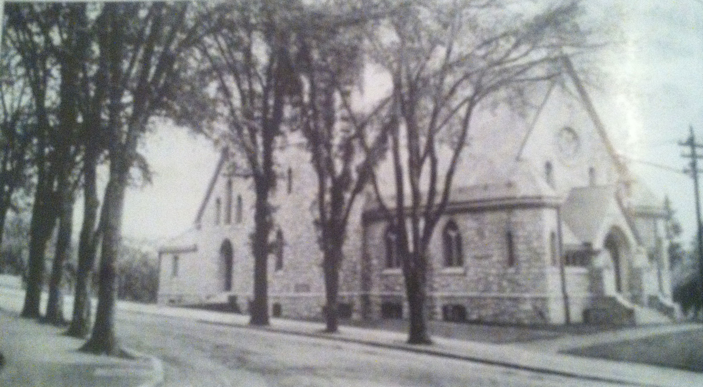 Christ Episcopal Church, Westerly, circa 1903.