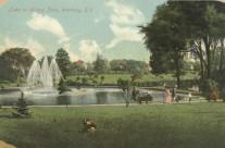 Wilcox Park Postcard
