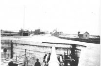 Historic Photo of Fort Mansfield on Napatree Point in Watch Hill Rhode Island