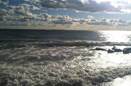 A little surf