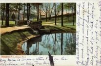 Bridge in Wilcox Park.