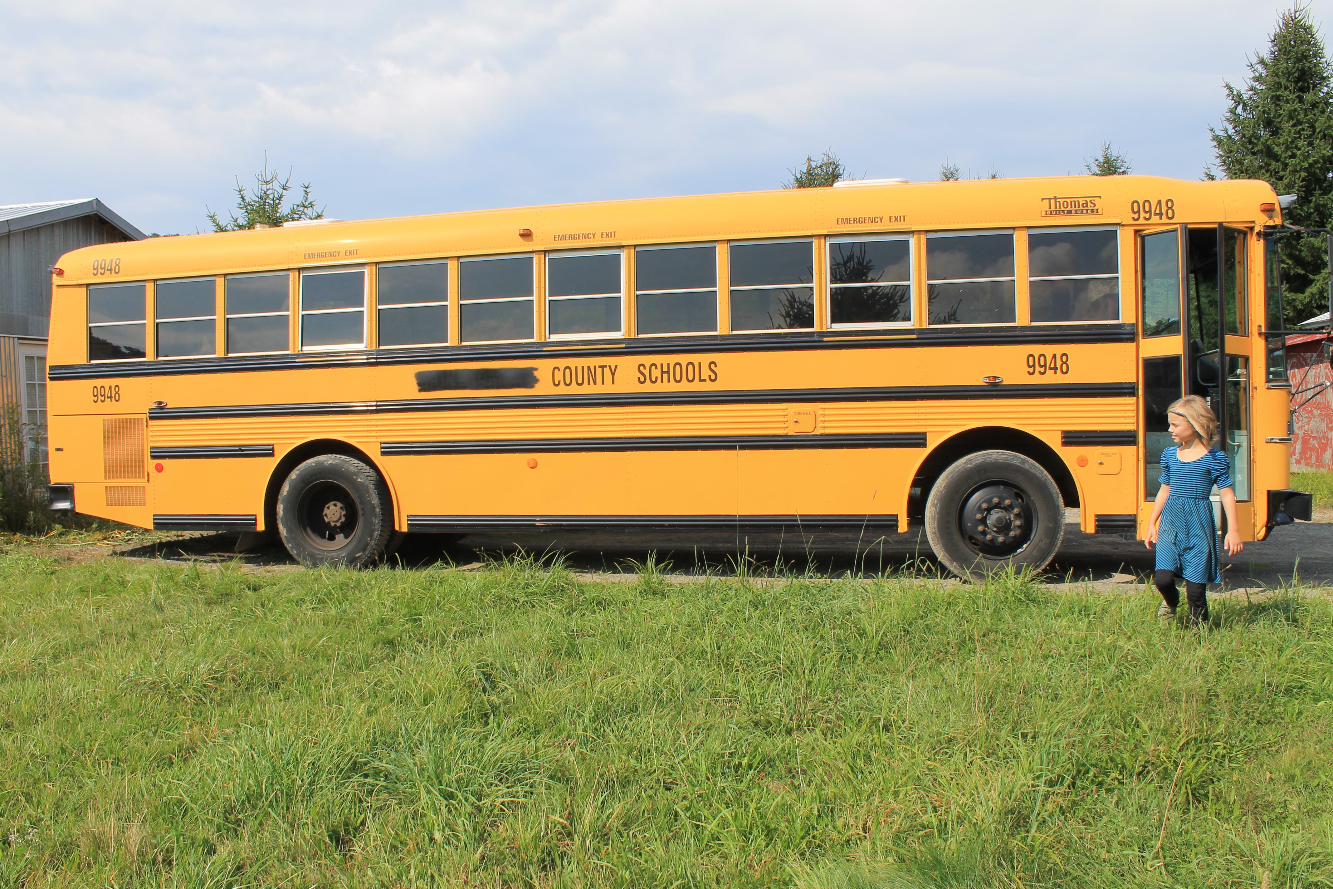 School Bus Conversion