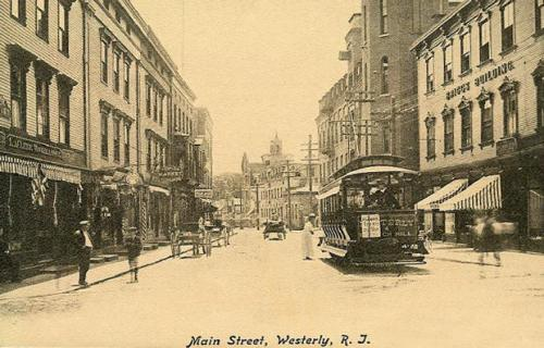 Main Street in Westerly