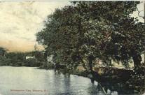 Stillmanville from the bridge.