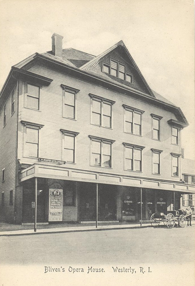 Bliven's Opera House – 1920