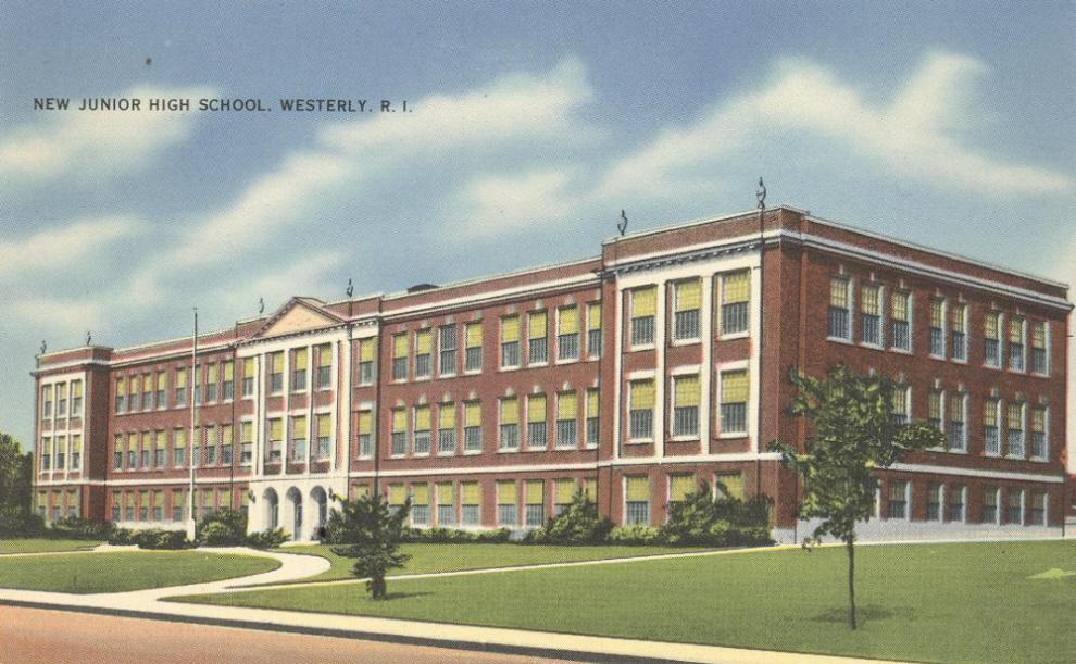 New Junior High School, Westerly RI, 1920