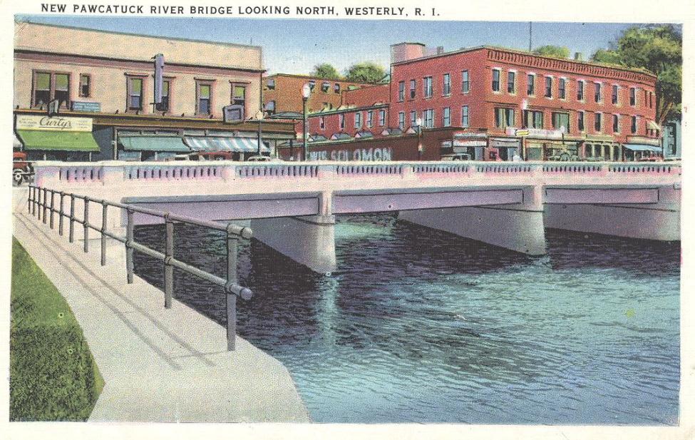 The New Pawcatuck River Bridge