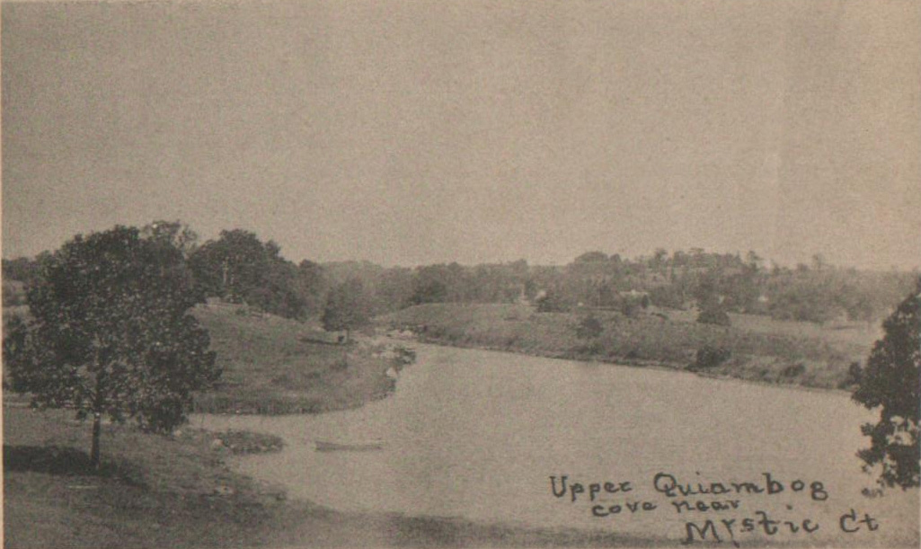 Quiambaug Cove in the early 1900's