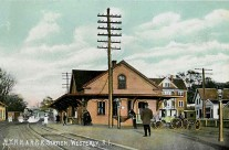Westerly RI original Railroad Station.