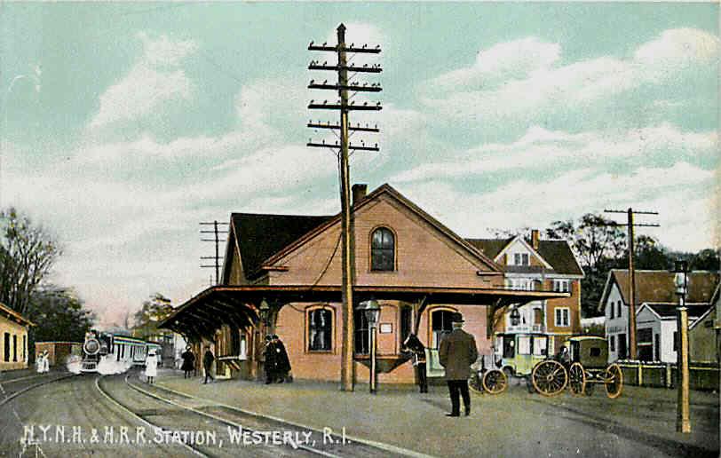 Westerly RI original Railroad Station.