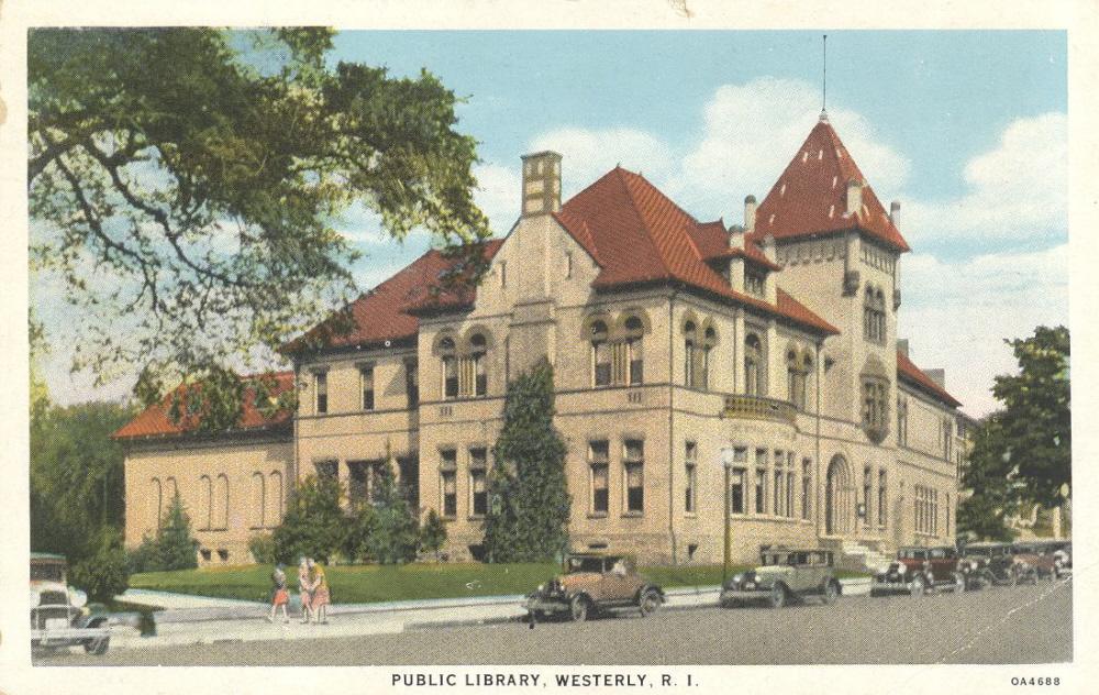 wilcox library postcard