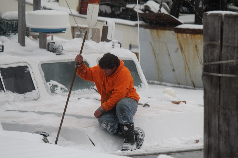 Snow on board