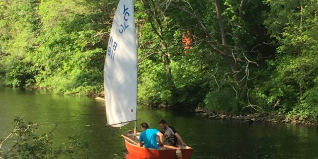 Sailing on the river